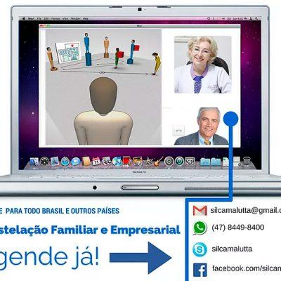 Constelação Familiar, Empresarial e Organizacional ON-LINE para todo o Brasil e outros países.