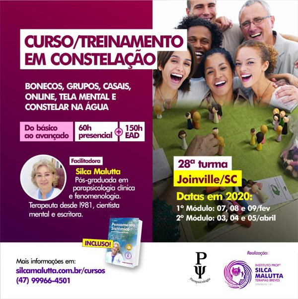 28° Turma - Curso / Treinamento com as Novas Constelações - Joinville/SC