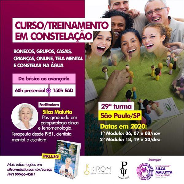 29° Turma - Curso / Treinamento com as Novas Constelações - São Paulo/SP