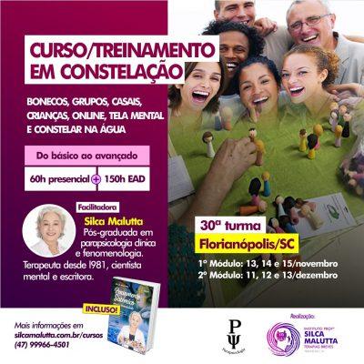 30° Turma - Curso / Treinamento com as Novas Constelações -  Florianópolis/SC