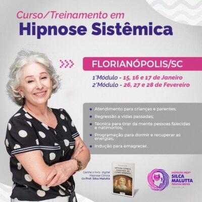 Turma HS211 - Curso/Treinamento em Hipnose Sistêmica - Florianópolis/SC