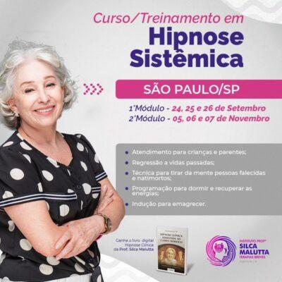 HS216 - Curso/Treinamento em Hipnose Sistêmica - São Paulo/SP