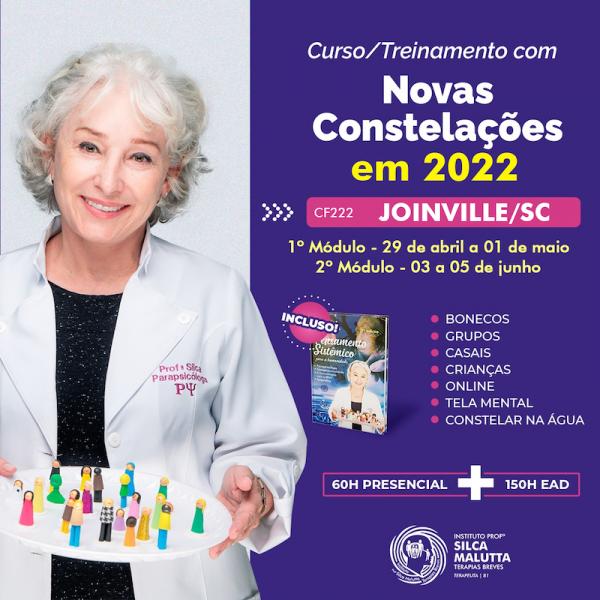CF223  - Curso/Treinamento com as novas Constelações - Porto Alegre/RS